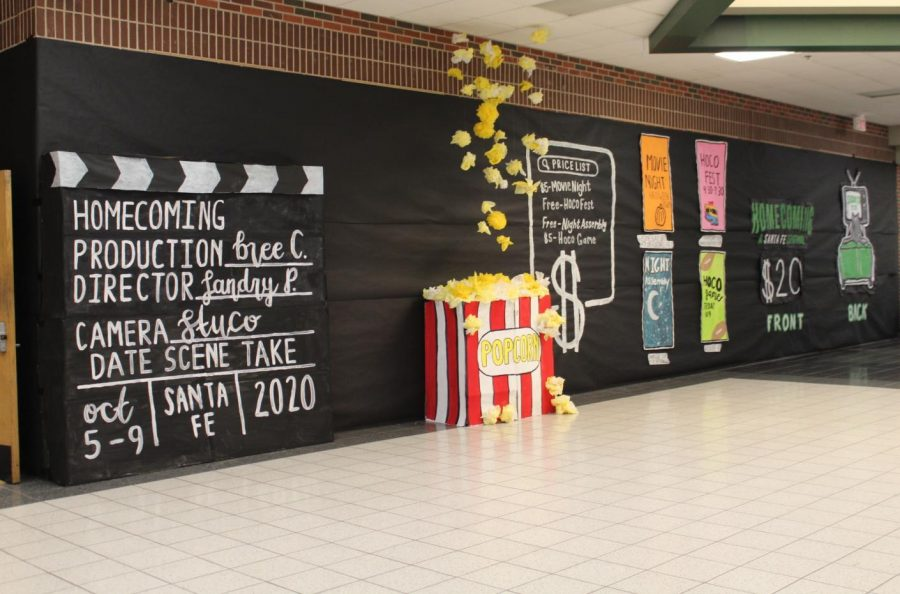 Homecoming Theme Santa Fe: A Netflix Original-