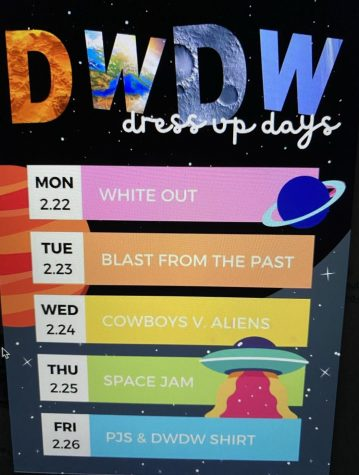 DWDW 2021 Dress Up Days