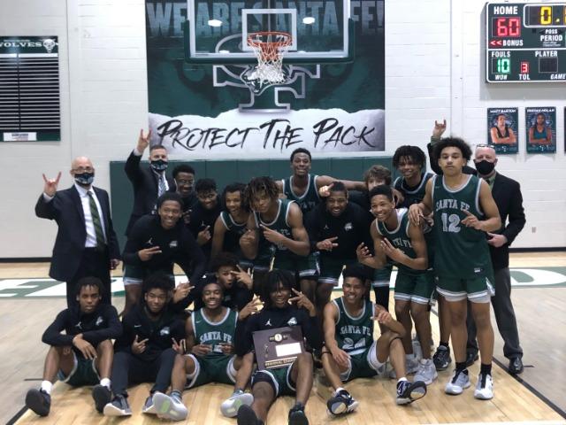 Santa Fe boys basketball finishes sensational season