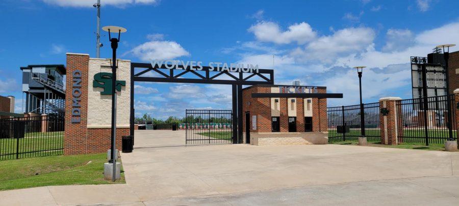 Wolves Soccer Stadium Entrance