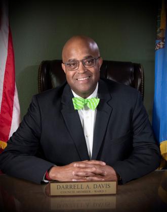 Edmond's new mayor, Darrell Davis.