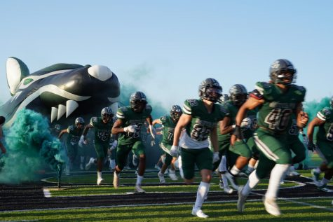 Wolves take the field for the first time this season.
